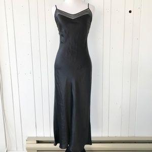 Victoria's Secret VS Full Length Strappy Silk Slip